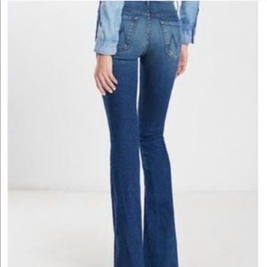 MOTHER The Cruiser High-Rise Flare Jeans Size 28